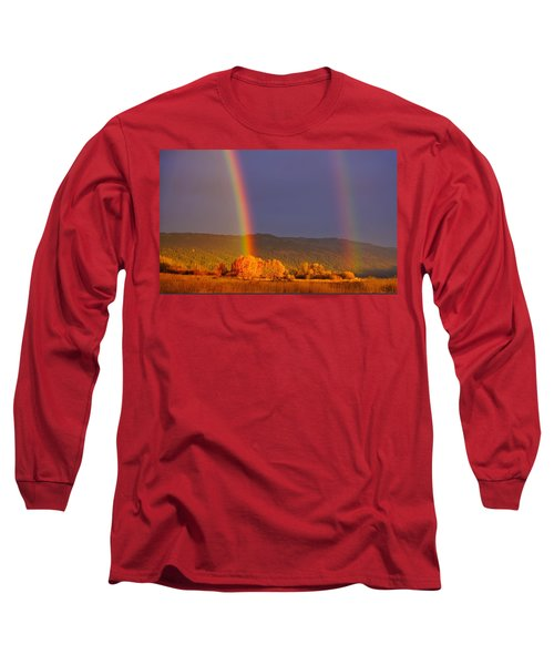 Double Gold Long Sleeve T-Shirt
