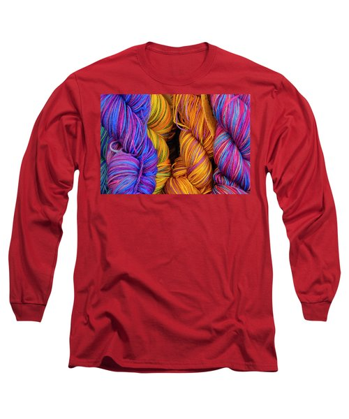 Fall Fibers Long Sleeve T-Shirt