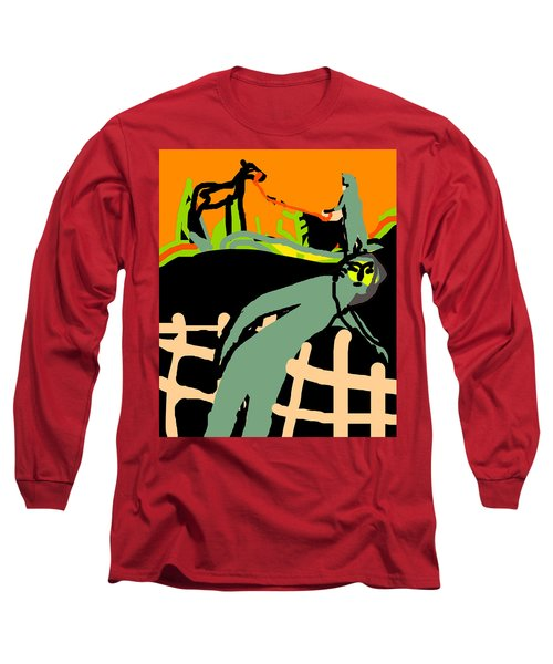 Fence Worker Long Sleeve T-Shirt