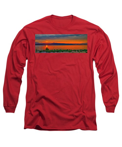 Fire Rock Long Sleeve T-Shirt