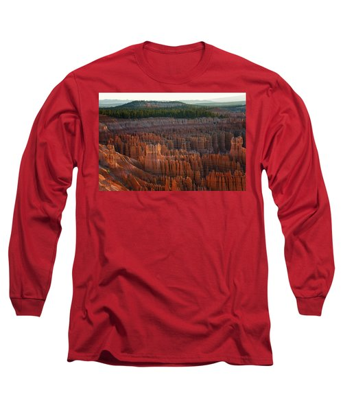 First Light On The Hoodoo Inspiration Point Bryce Canyon National Park Long Sleeve T-Shirt