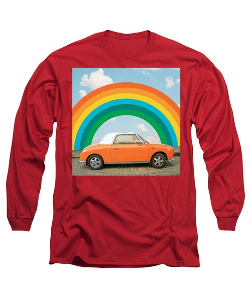 Funky Rainbow Ride Long Sleeve T-Shirt