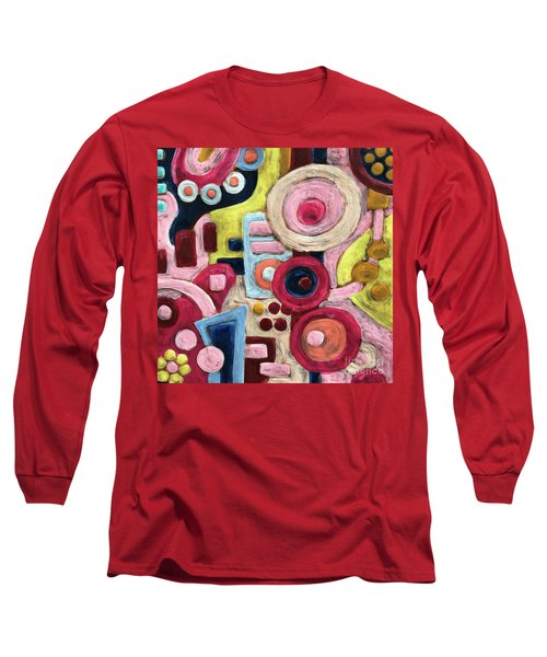 Geometric Abstract 1 Long Sleeve T-Shirt