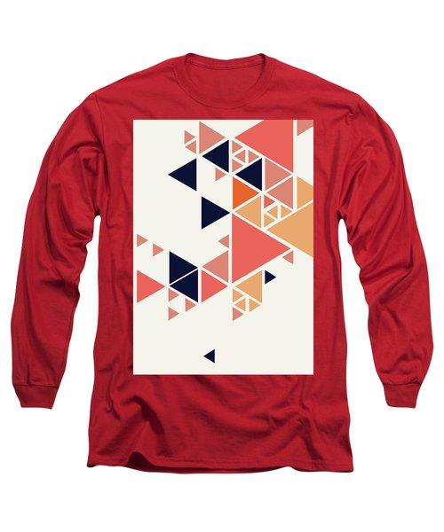 Geometric Painting 1 Long Sleeve T-Shirt