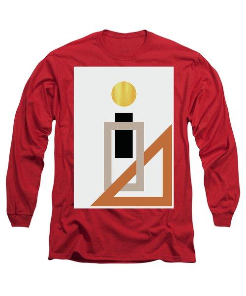 Geometric Painting 10 Long Sleeve T-Shirt