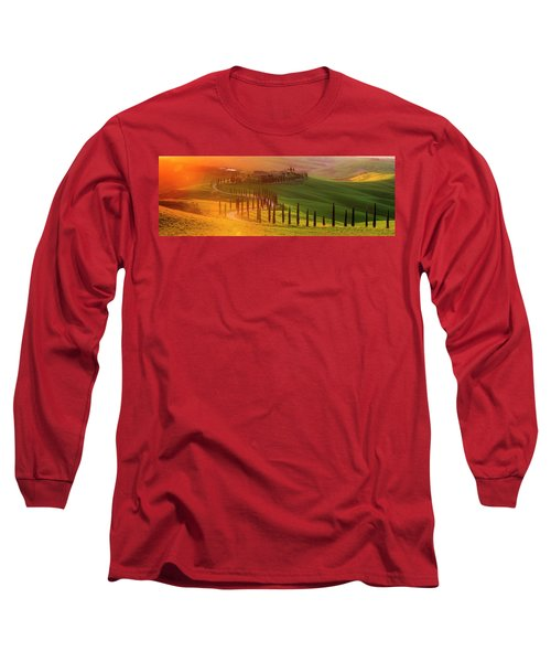 Golden Tuscany II Long Sleeve T-Shirt