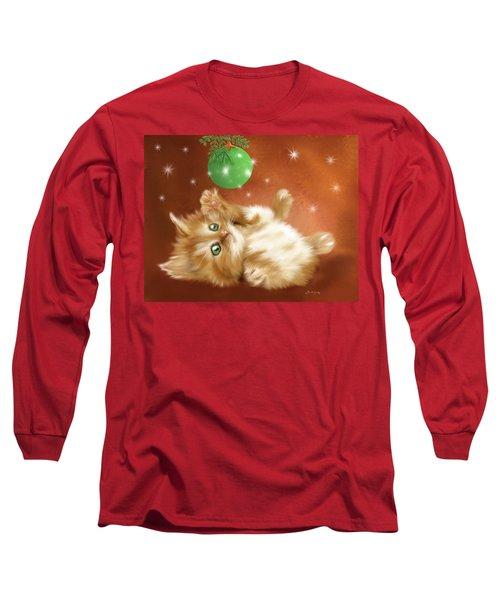 Holiday Kitty Long Sleeve T-Shirt