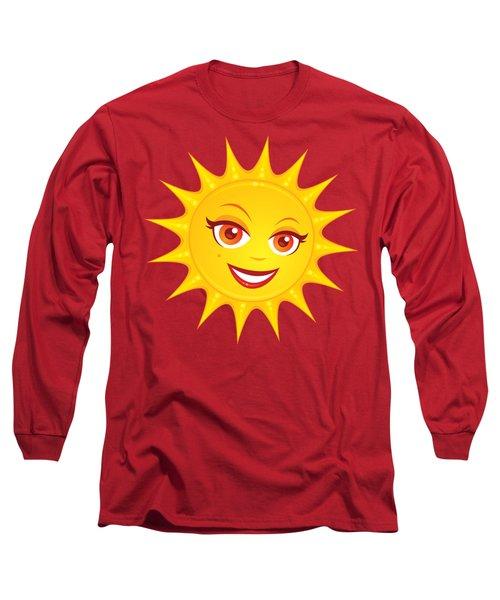 Hot Summer Sun Long Sleeve T-Shirt