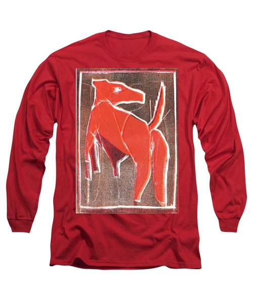 I Was Born In A Mine Dog 29 Long Sleeve T-Shirt
