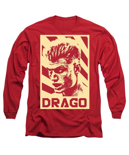 Ivan Drago Retro Propaganda Long Sleeve T-Shirt