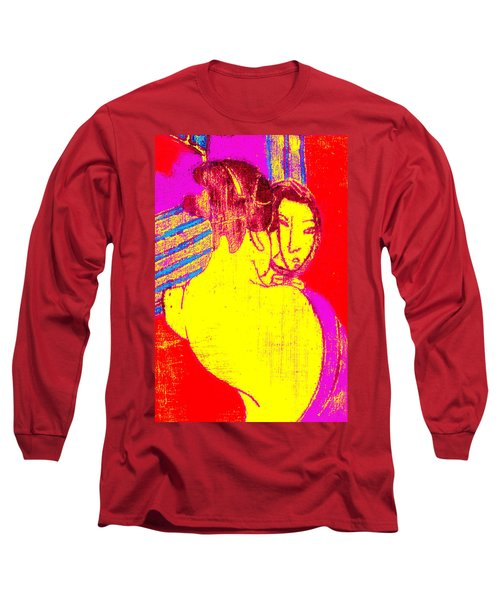 Japanese Pop Art Print 1 Long Sleeve T-Shirt