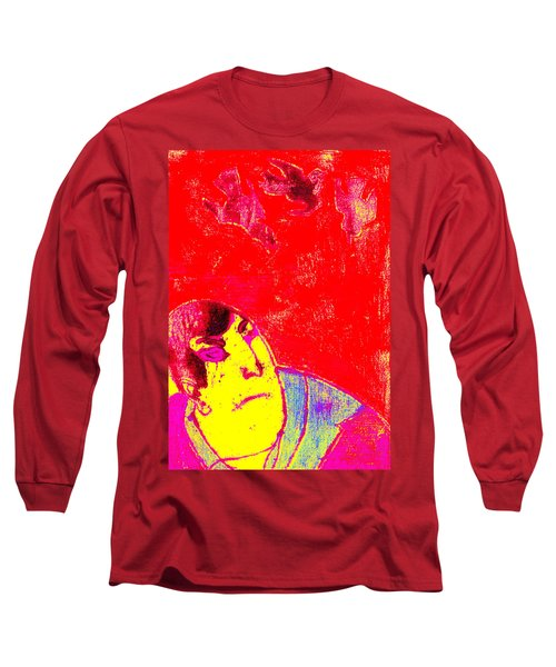 Japanese Pop Art Print 6 Long Sleeve T-Shirt