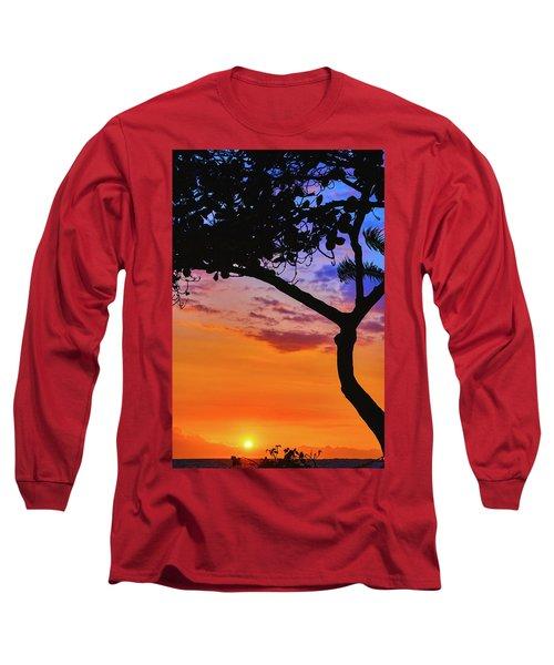 Just Another Kona Sunset Long Sleeve T-Shirt
