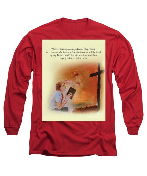 Keeps My Commandments Long Sleeve T-Shirt