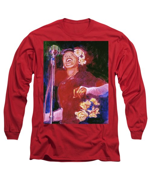 Lady Day - Billie Holliday Long Sleeve T-Shirt