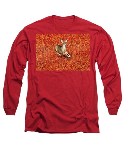 Leaping Deer Long Sleeve T-Shirt
