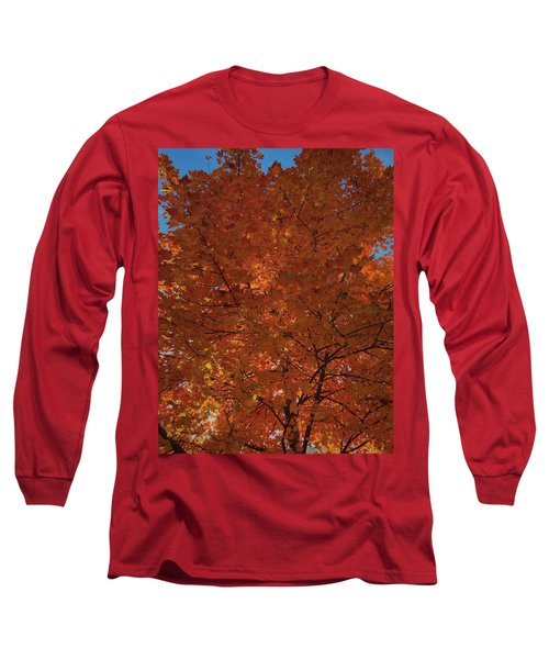 Leaves Of Fire Long Sleeve T-Shirt