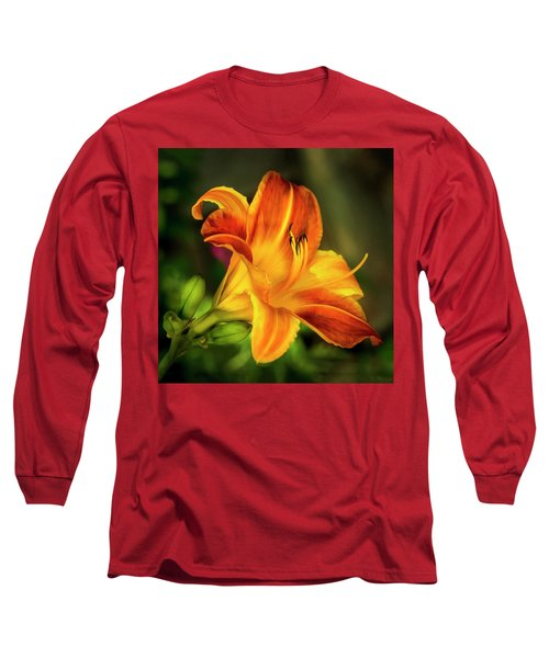 Lily Of The Day Long Sleeve T-Shirt