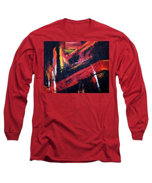 Lines Of Fire Long Sleeve T-Shirt