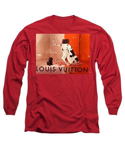 Louis Vuitton Signature Dog Long Sleeve T-Shirt