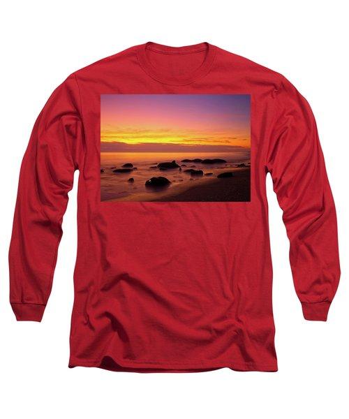 Low Tide Nautical Twilight Long Sleeve T-Shirt