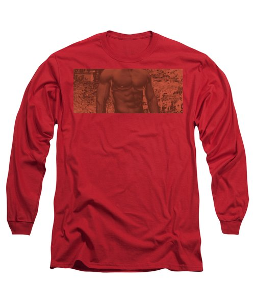 Male Torso Long Sleeve T-Shirt