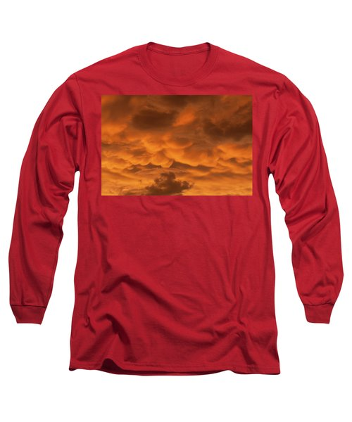 Mammatus Clouds Long Sleeve T-Shirt