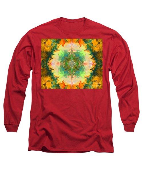 Mandala 12 8 2018 Long Sleeve T-Shirt
