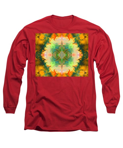 Mandala 12 8 2018 Long Sleeve T-Shirt