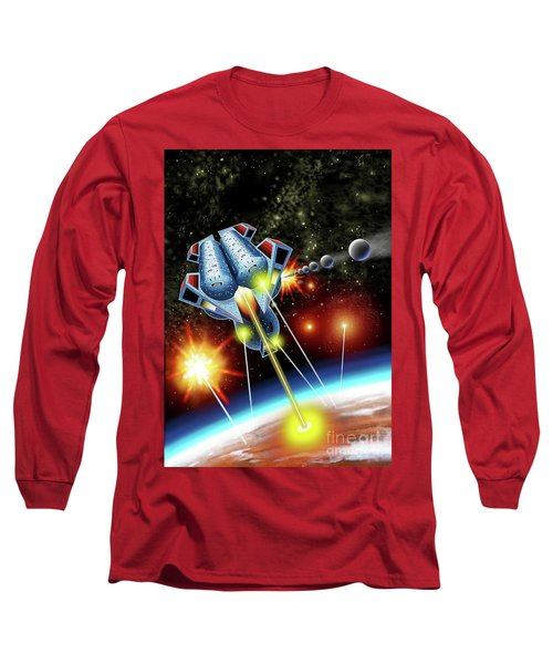 Mangle Atacks Nisip Long Sleeve T-Shirt