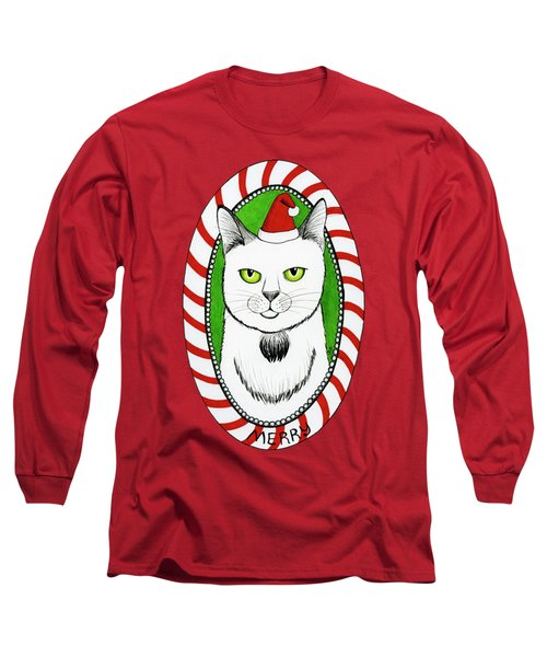 Merry Catmas Long Sleeve T-Shirt