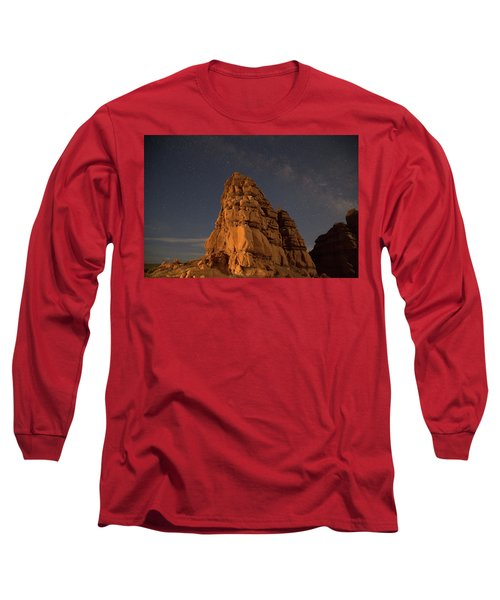 Milky Way On The Rocks Long Sleeve T-Shirt