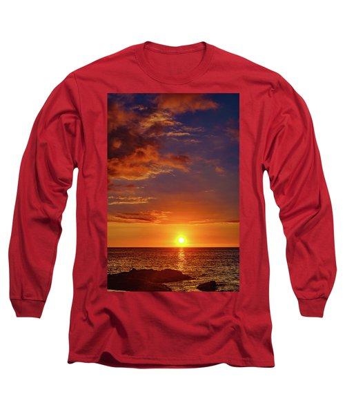 Monday Sunset Long Sleeve T-Shirt