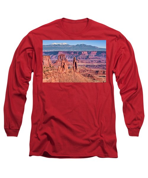 Long Sleeve T-Shirt featuring the photograph Monster Tower by Andy Crawford