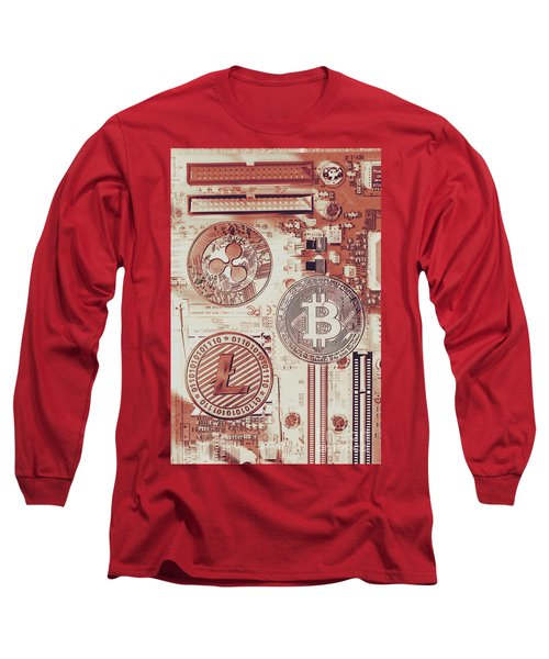 Motherboard Money Long Sleeve T-Shirt