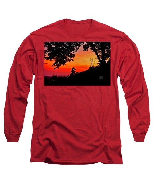 Mountain Sunrise Long Sleeve T-Shirt