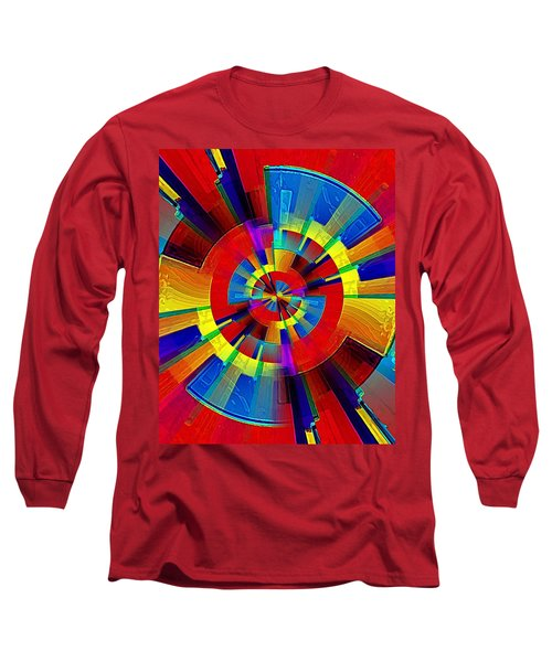 My Radar In Color Long Sleeve T-Shirt