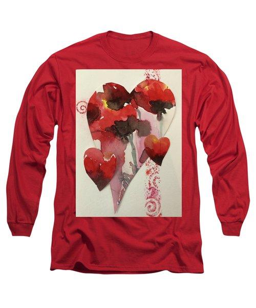 My Valentine Four Long Sleeve T-Shirt