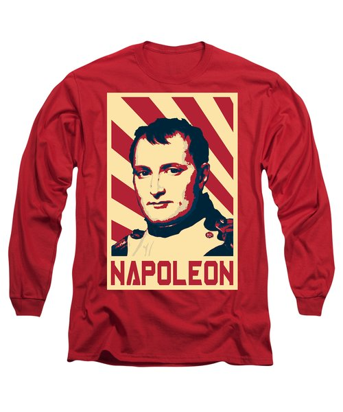 Napoleon Bonaparte Retro Propaganda Long Sleeve T-Shirt