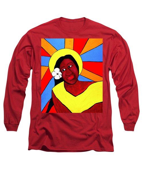Native Queen Long Sleeve T-Shirt