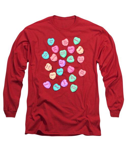 New Convo Hearts Long Sleeve T-Shirt