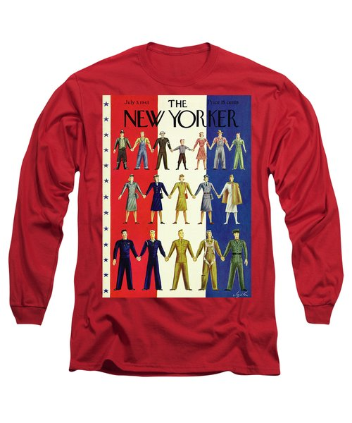 New Yorker July 3rd 1943 Long Sleeve T-Shirt