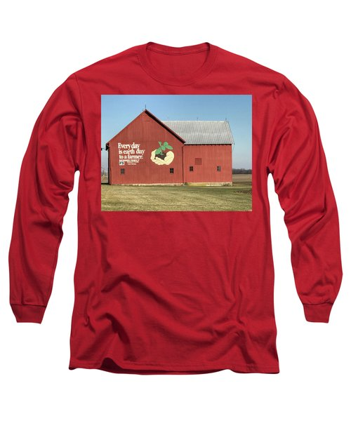 Ohio Barn  Long Sleeve T-Shirt