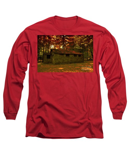 Old Stone Structure Long Sleeve T-Shirt