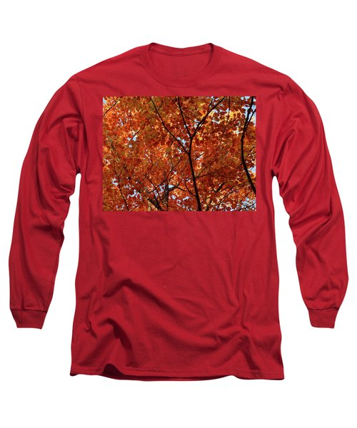 Orange Everywhere Long Sleeve T-Shirt