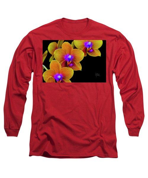 Orchid Study Ten Long Sleeve T-Shirt