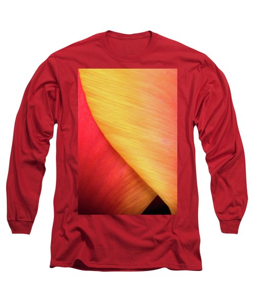 Long Sleeve T-Shirt featuring the photograph Pastel Curve  by Michael Hubley