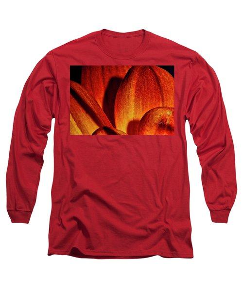 Peach Petals Long Sleeve T-Shirt