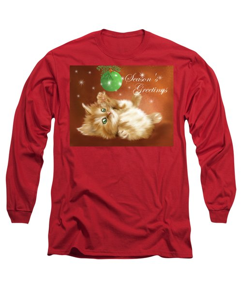 Playful Tabby Long Sleeve T-Shirt
