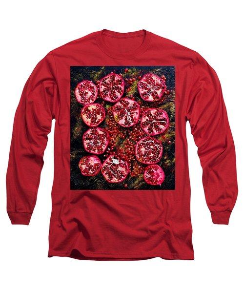 Pomegranate New Year Long Sleeve T-Shirt